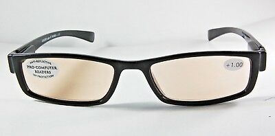 UV52985-Cpter-R Computer Reading Glasses Clear Buy One Get One (Buy Clear Glasses)