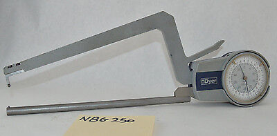 Dyer Wall Thickness Gage 0.05mm Long Reach