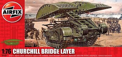 Airfix Churchill Bridge Layer 1:76 Scale Plastic Model A04301