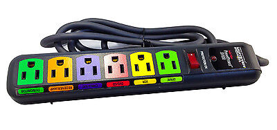 Monster Power Av600 Home Theater Surge Protector   Advanced Surge Protection