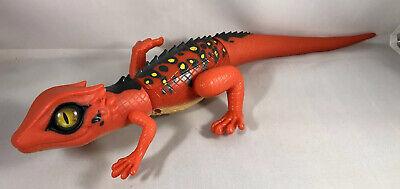 """ROBO ALIVE Lurking Robotic Lizard Red Toy Pet Lifelike ZURU Inc 14"""""""