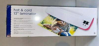 New Love Nicole Hot Cold 13 Laminator For 3 To 5 Mil Pockets Retail 50.00
