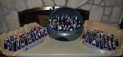 PEPSI JAPAN STAR WARS BOTTLE CAP Figure Collection DISPLAY STAGES JAPAN COMPLETE