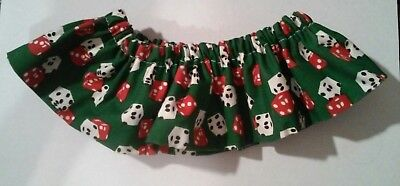 DICE LOGO DOG CLOTH COLLAR GREAT FOR ANY COLLECTION!
