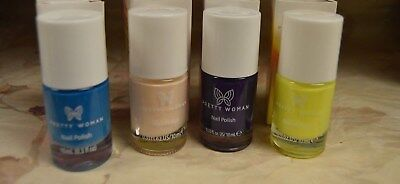 4 Pretty Woman Nail Polish in 4 Different Colors ❤️❤️❤️ ❤️ Best