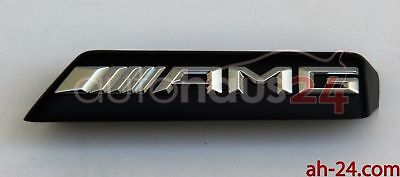 MERCEDES BENZ GLA CLASS GLA 45 LOGO AMG BADGE ON FRONT GRILL GENUINE NEW  15-UP