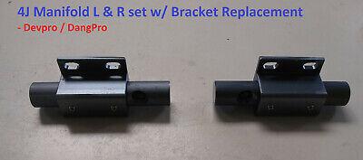 Manifold Replacement 4j L R Set W Bracket For Dangpro Devpro Carpet Wand