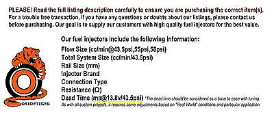 Bosch 2200cc Injector Dead Time