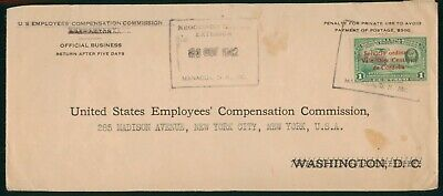 Mayfairstamps Nicaragua 1942 Employess Compensation Commision Cover wwo_58425