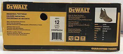 Dewalt Dxwp84334 Mens Level Work Boot 12m In Brown O