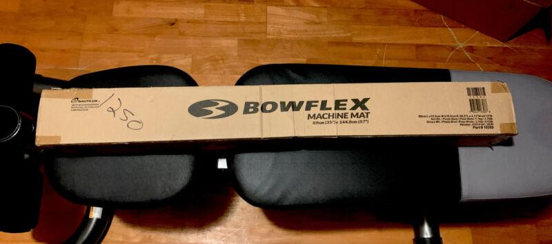 "Bowflex Cardio Machine Black Rubber Mat 89cm (35"") X 144.8cm (57"") Sealed"