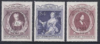 Österreich Austria  1638 - 1640 Todestag von Kaiserin Maria Theresia, 1980 gest.