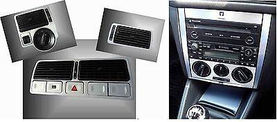 2 x Set alu console Manuale a/c & bocchette aria  VW GOLF 4 IV,Jetta,Bora - Jetta Seta