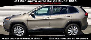 2017 Jeep Cherokee Limited 4X4,HEATED LEATHER ,WELL EQUIPPED,...