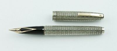Sheaffer, Imperial Fountain Pen, Sterling Silver w/Gold Plated Trim
