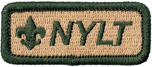 BOY SCOUT OFFICIAL NATIONAL YOUTH LEADERSHIP TRAINING STRIP PATCH EMBLEM BSA NEW