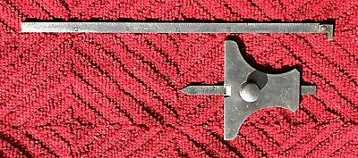 Vintage Starrett No. 237 Depth Gage With Lufkin No.2310 Ruler As Pictured