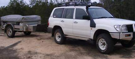 TRACKABOUT SAFARI GALVANISED CAMPER TRAILER (12ft Tent Section) Redlynch Cairns City Preview