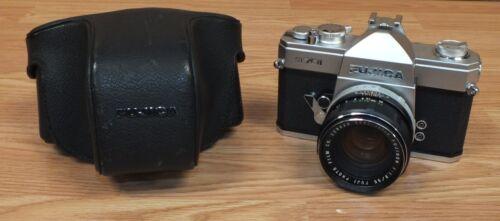 Genuine Vintage Fujica (ST701) Film Camera With Leather Case & Lens **READ**