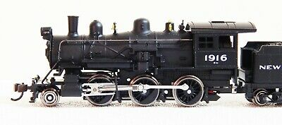 MRC N-Scale #876071 2-6-0 Mogul NYC Dual-Mode DC/DCC with SOUND, NEW!