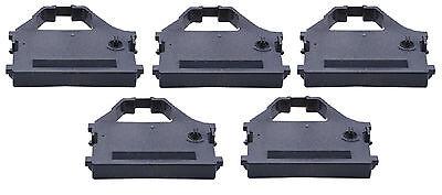 Nx2400 Black Ribbon (5 x Ink Ribbon Star LC 24-10 15 FR 10 15 XB 24-10 NX 2400 Group 691 Nylon)