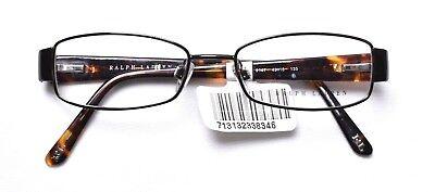 RALPH LAUREN 5064 9147 Eyeglass/Glasses Frames 49-16-135 Brown >NEW<