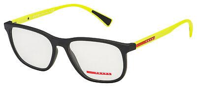 Prada Sport Eyeglasses PS 05LV 2491O1 55 Black/Yellow Frame  (Sport Frames)