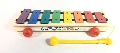 Vintage Fisher Price Toys Xylophone #870 1985