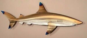 Metal Reef Shark,Fish,Beach House,Art,Wall,Home Decor,