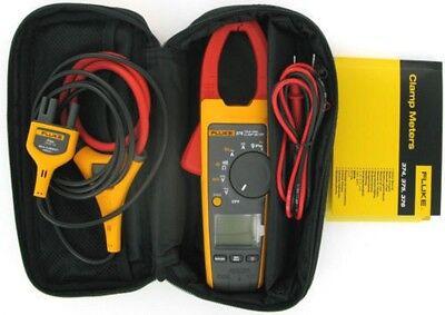 Fluke 376 True-rms Acdc Clamp Meter Multimeter Tester 1000a 1000v Iflex Probe