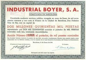 Original-Spain-WWII-bond-1941-Industrial-Boyer-Co-1000