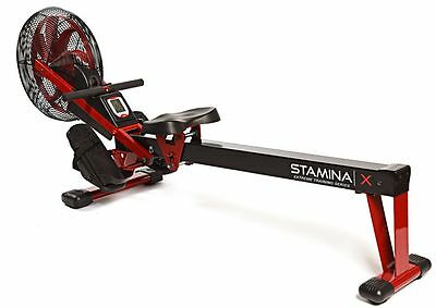 Stamina X Air Rower Rowing Machine 35-1412 Cardio Exercise NEW UPGRADED 2018