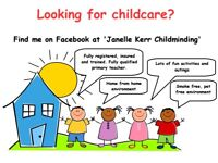 Childminder with full time spaces