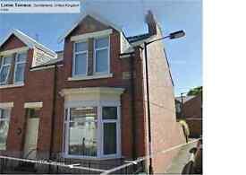 FANTASTIC 6 BEDROOMED TERRACED HOUSE IN THE POPULAR LOCATION OF LORNE TERRACE ASHBROOKE SUNDERLAND