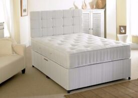 SINGLE / DOUBLE / SMALL DOUBLE / KING SIZE DIVAN BED Availabie With MATTRESS Fort Worth