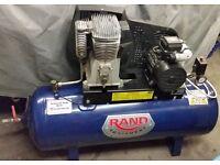 Ingersol Rand 3HP 150L 240v Single Phase Air Compressor