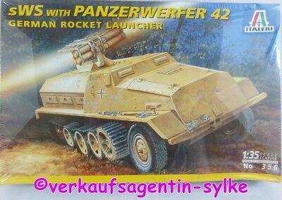 401: Italeri Modellbausatz GERMAN ROCKET LAUNCHER m. Panzerwerfer 42, 1:35, Neu