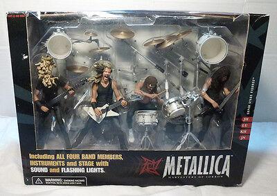 New Vintage Metallica Harvesters of Sorrow Box Set Figures & Stage McFarlane