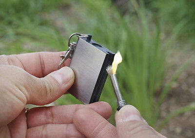 Instant Survival Magnesium Fire Starter 15 000 Matches In One Survival Camping