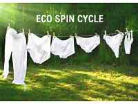 Eco Spin Cycle - Ironing and Laundry Service