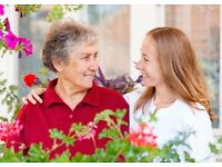Live-in Companion needed for elderly lady in private home. Full-time and part-time positions.