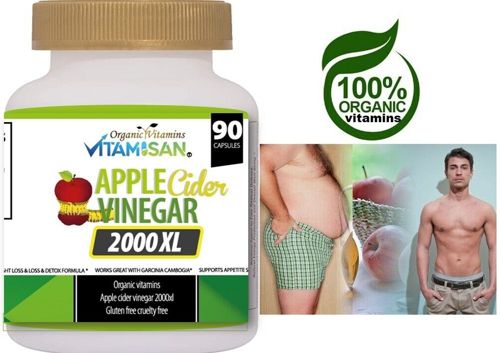 Body Detox & Cleanse w/ Apple Cider Detox Health and Weight Loss Aid, 3-Pack 270 2
