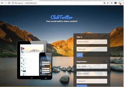 Twitter clone Social Net Work Website