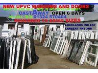 WINDOWS NEW UPVC DOUBLE GLAZED COMPLETE& DOOR SETS NEW STOCK IN