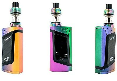 Smok Alien 220W Kit in *FULL COLOR*-RAINBOW,authentic,new unopened! USA SHIPFAST