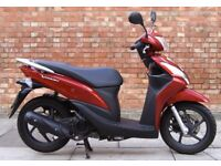 Honda Vision 110cc (65 REG), Good condition with Only 2593 miles! 3 months warranty!!