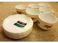 Vintage French Retro Tea Set