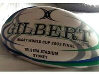 2003 Rugby World Cup Final Ball (New, Size 5)