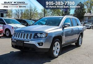 2016 Jeep Compass HIGH ALTITUDE, 4X4, SUNROOF, BLUETOOTH, HTD SE