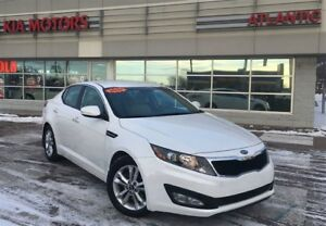 2012 Kia Optima EX, LEATHER, HEATED SEATS, ONLY $43* WEEKLY